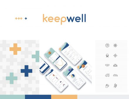 the keepwell app on a phone